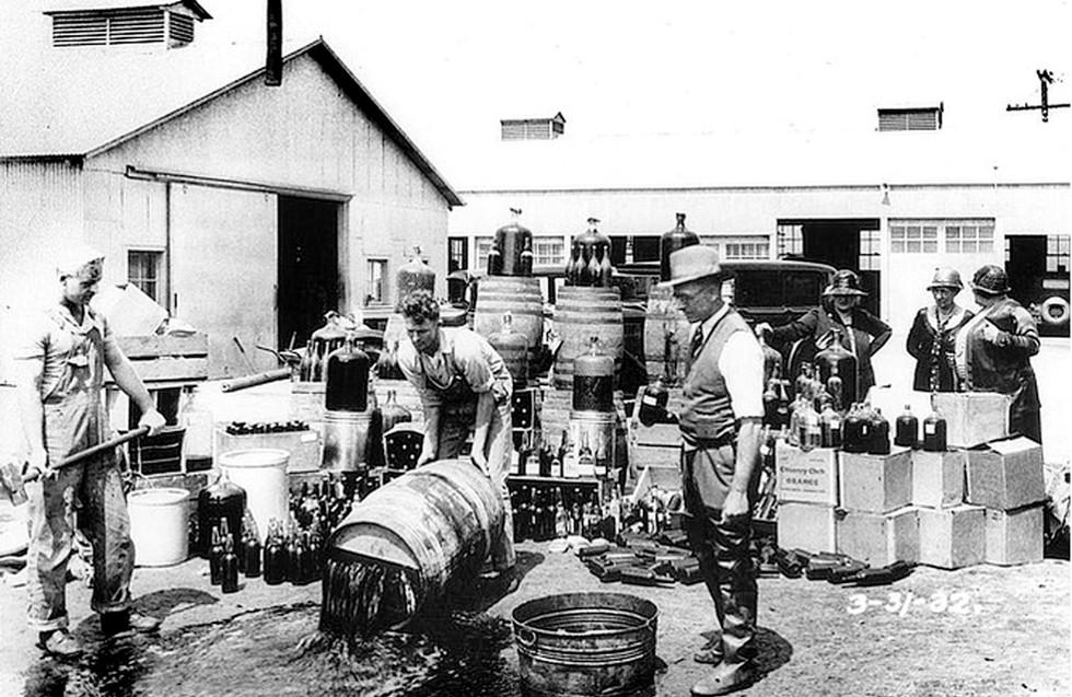 Prohibition in Santa Ana