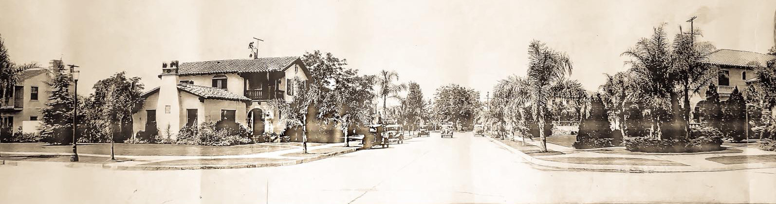 historic Floral Park Santa Ana