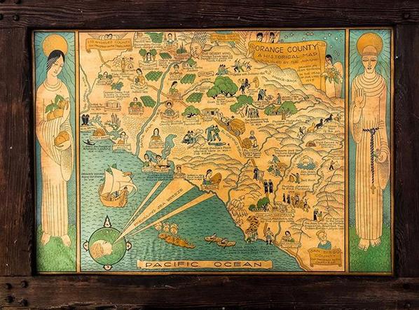 Map of Orange County