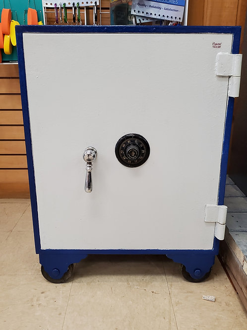 Refurbished Blue Safe