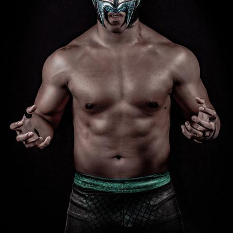 Pro Wrestling Portrait - Photographer - Pro Wrestling Photography - Fotografía Lucha Libre