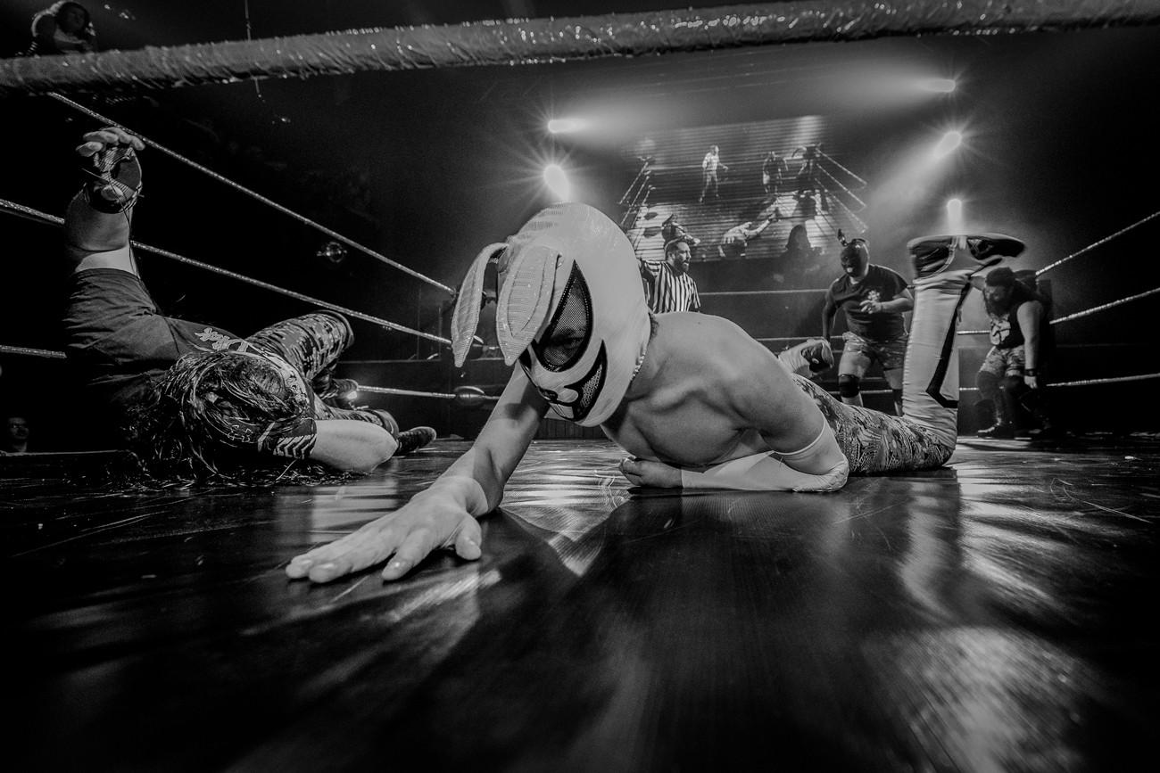 Ring Side - Pro Wrestling Photography - Fotografía de Lucha Libre