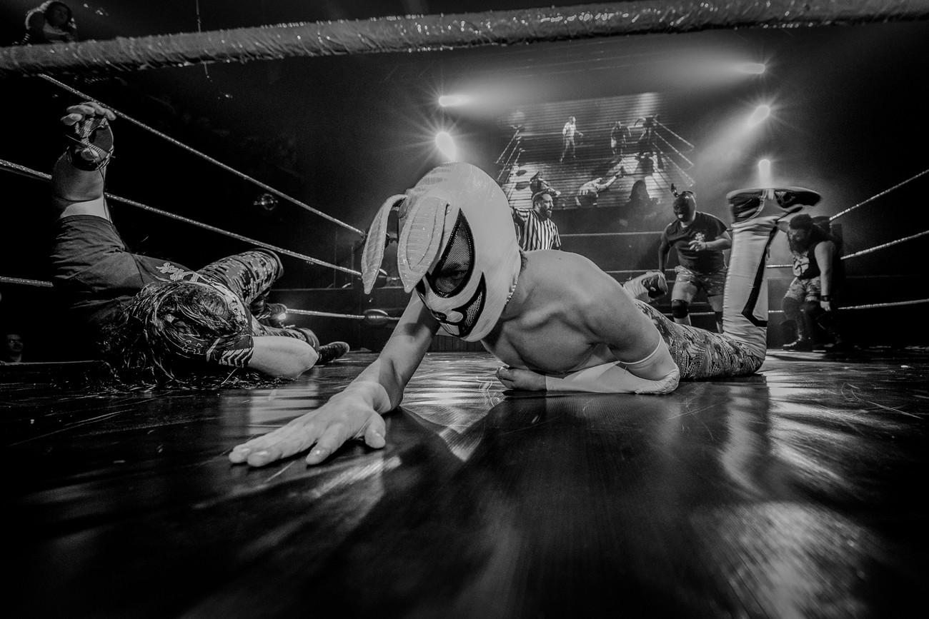 Ring Side - Pro Wrestling Photography - Fotografía de Lucha Libre