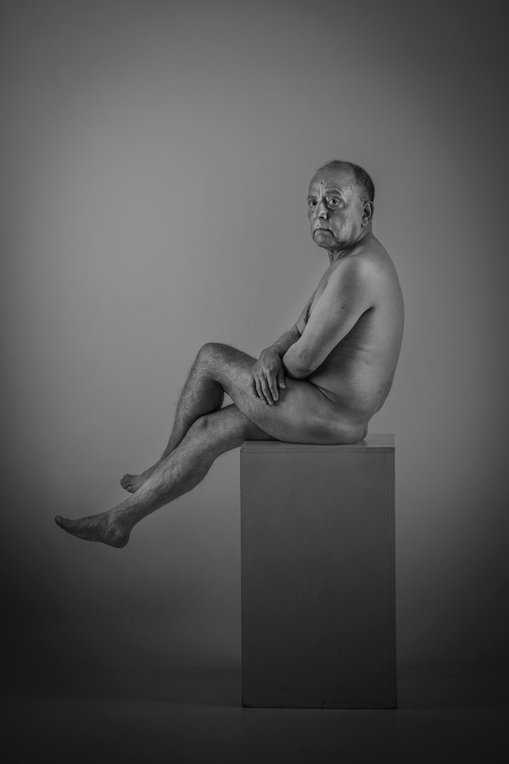 Retrato-Desnudo - Retrato artístico - Claudio Ramírez Fotógrafo