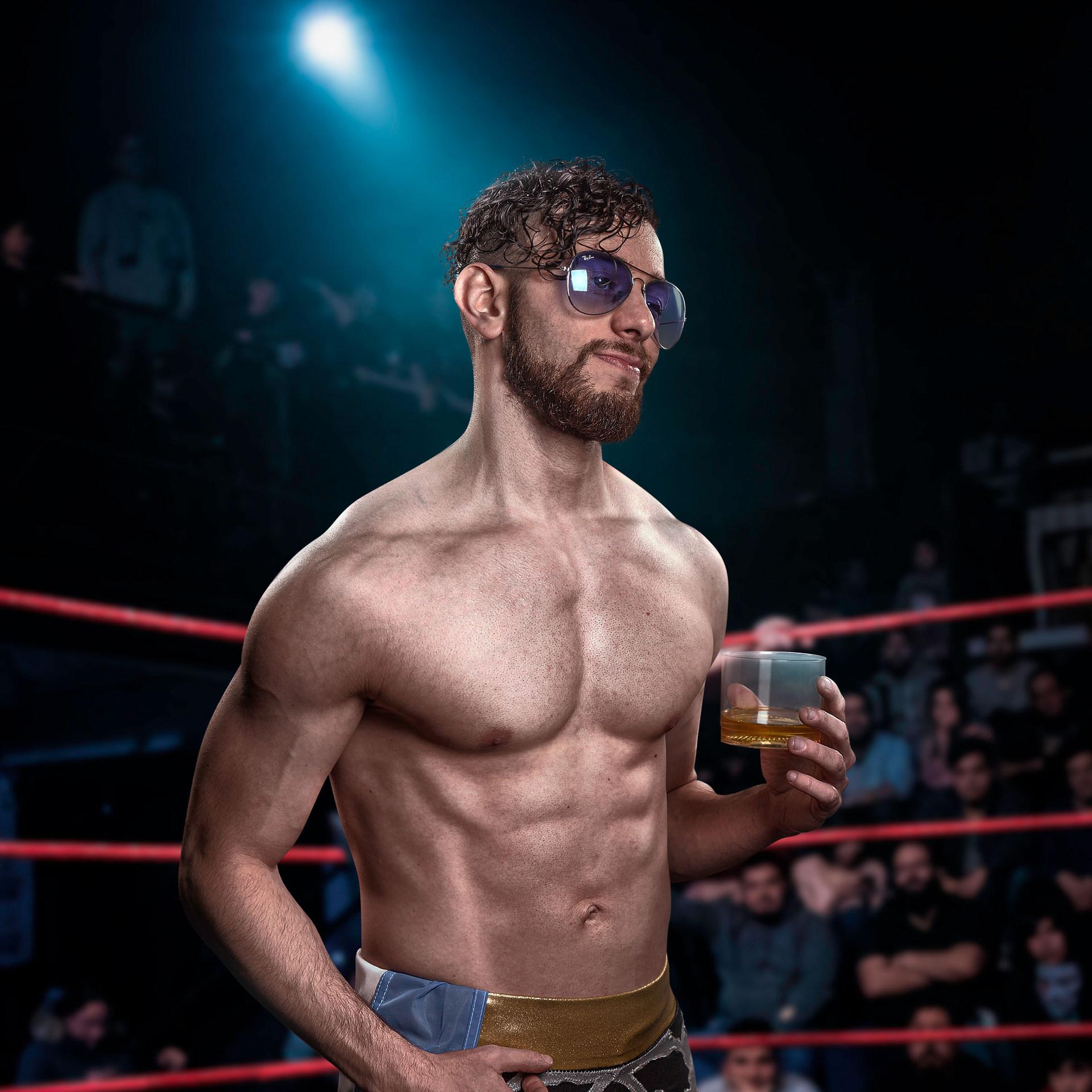 Retrato CNL - Campeonato Nacional de Lucha - Pro Wrestling Photography