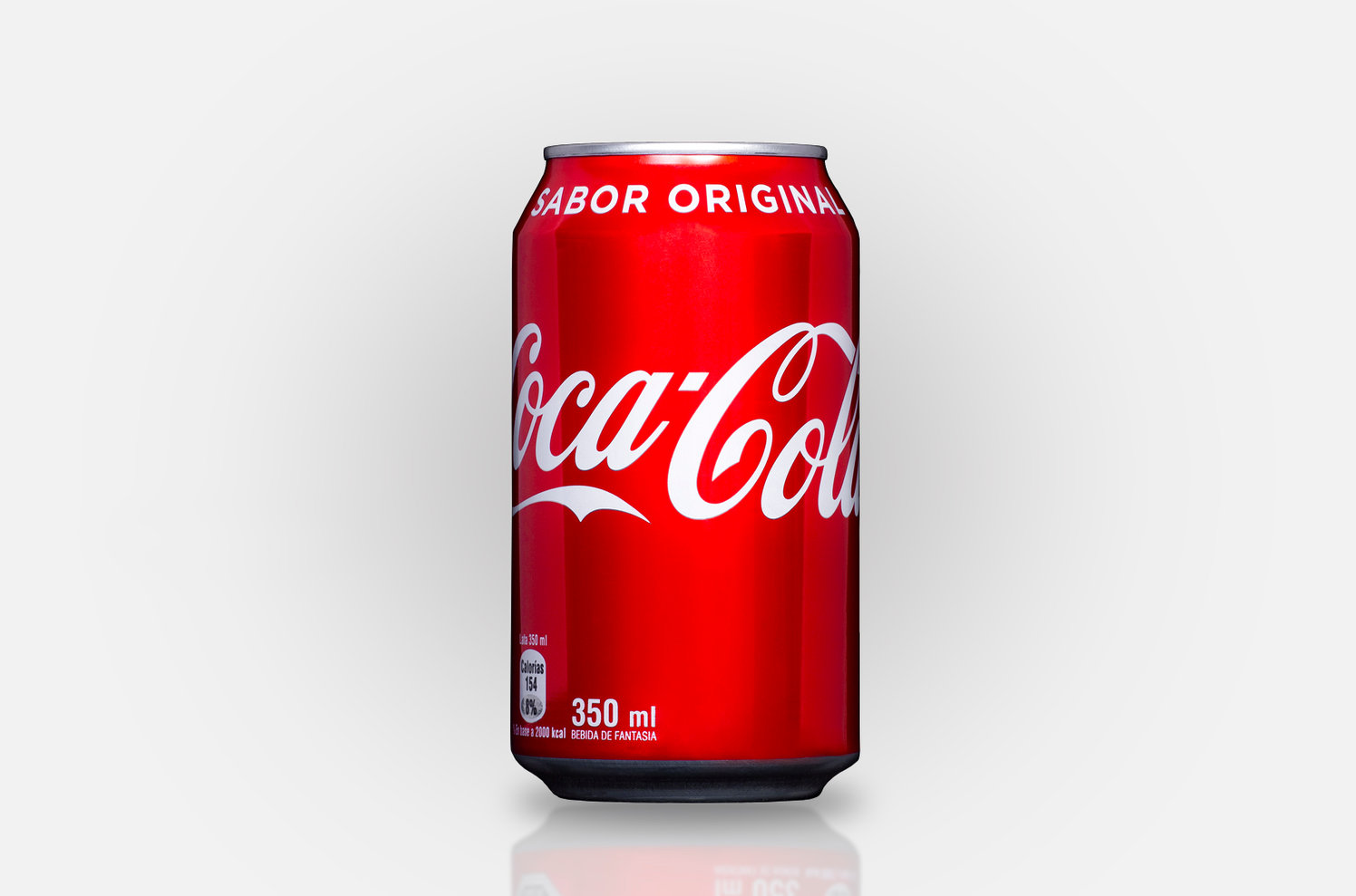 Lata Coca Cola - Can Product Photo