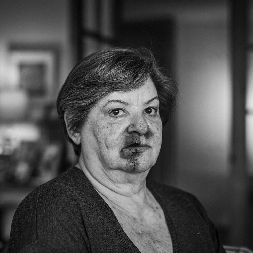 Retrato Mujer Golpeada - Publicidad -BBDO - SERNAM
