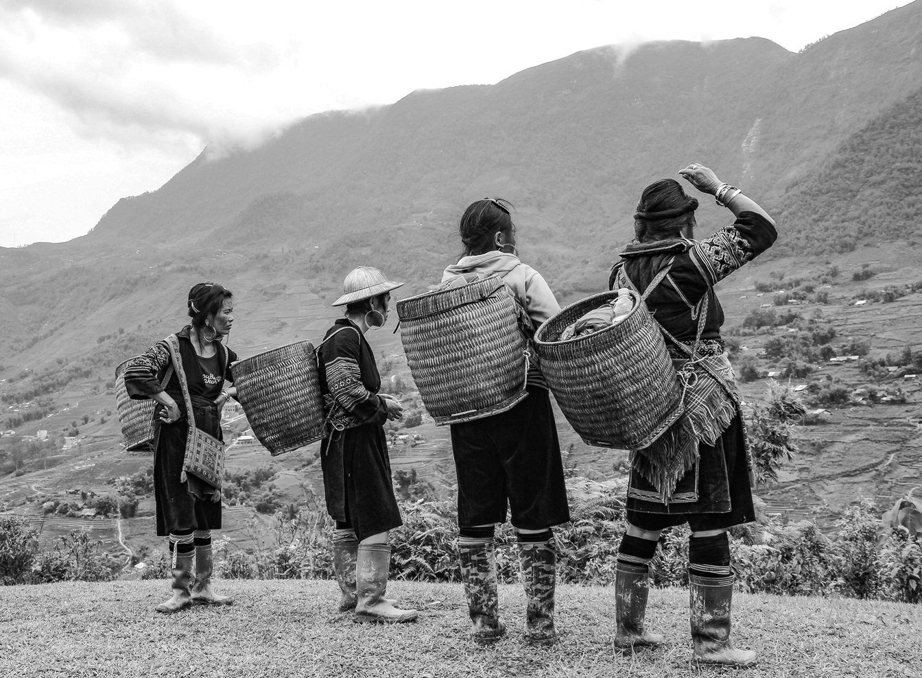 Retrato Documental Mujeres Vietnam - Travel Photography