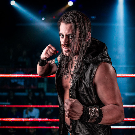 Sinner CNL - Campeonato Nacional de Lucha - Portrait - Pro Wrestling Photography