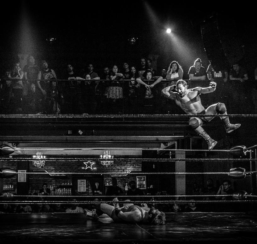 Ariel Levy Ringside Lucha Libre CNL - Pro Wrestling Photography - Fotografía Lucha Libre