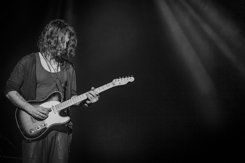 Richie Kotzen - Guitar Player - Retrato en Santiago de Chile
