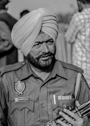 Bodyguard Punjab Portrait - India