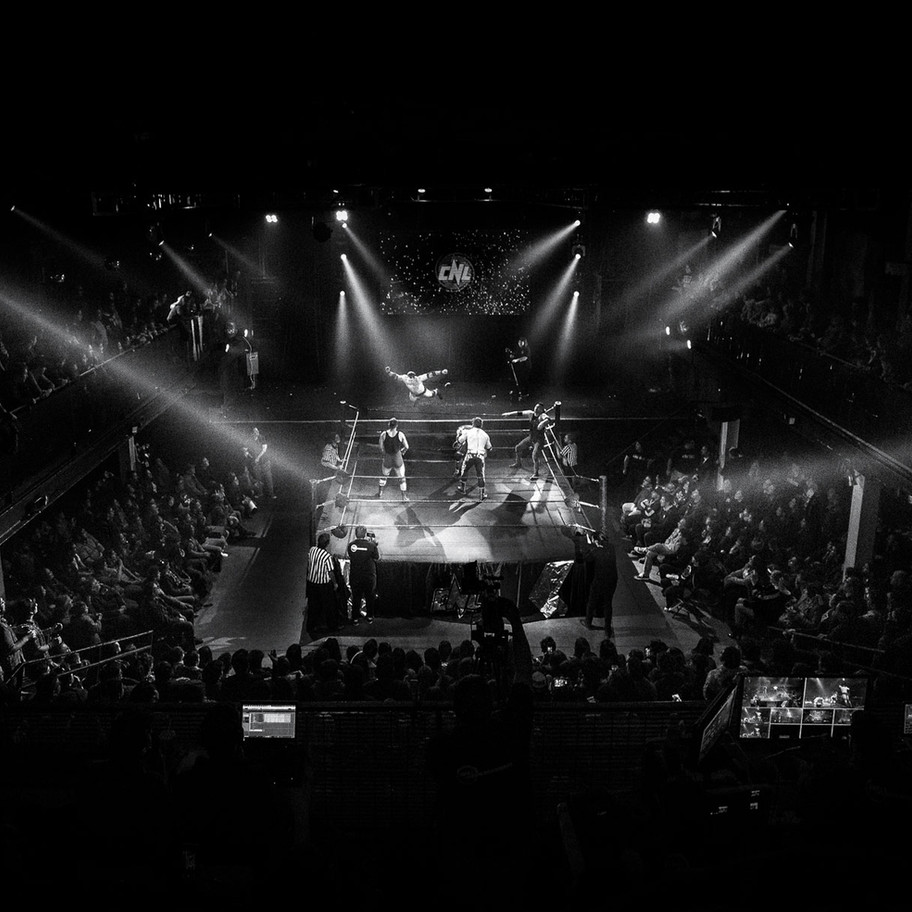Ariel Levy-Volando - Pro Wrestling Photography - Fotografía de Lucha Libre