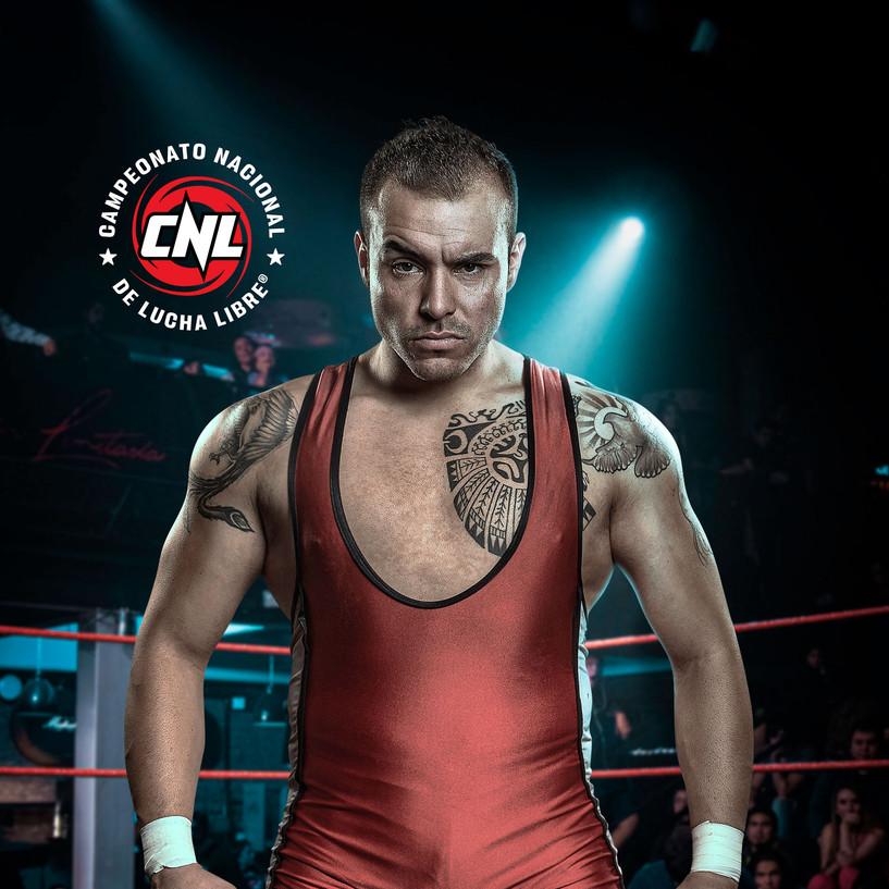 Retrato CNL Lucha Libre - Pro Wrestling Photography - Fotografía deportiva - deportistas