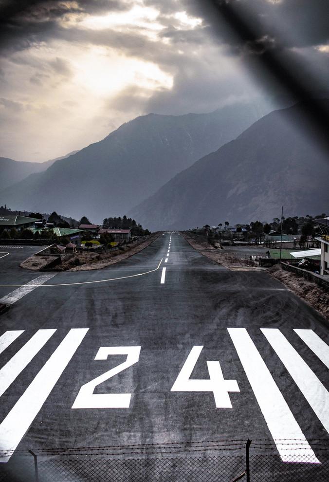 Himalaya's Airport Lukla - Mountain Landcape