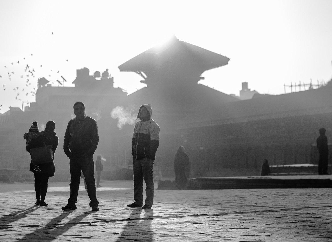 Amanecer en Kathmandu - Sunrise