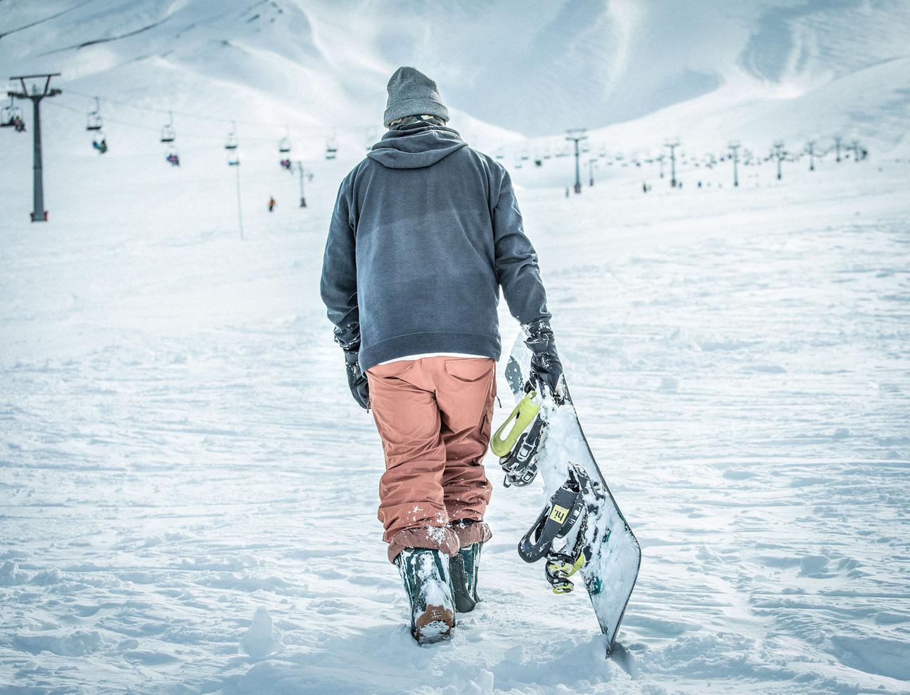 Snowboard - Chile - Mountain -