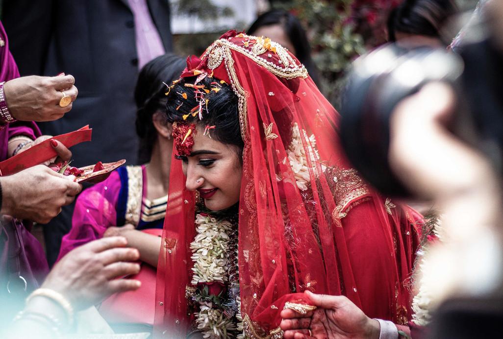 Wedding in Kathmandu - Nepal - Boda - Bride Portrait - Novia - Fotografía Profesional - Matrimonio
