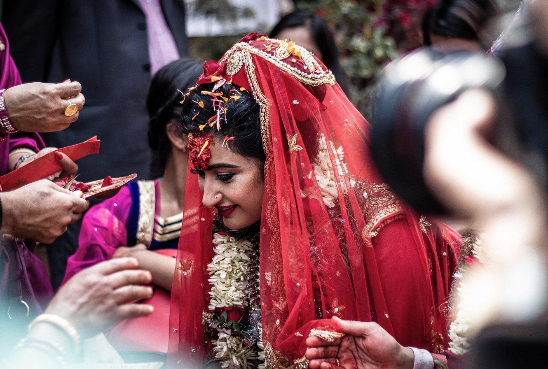 Wedding in Kathmandu Nepal - Boda Retrato Novia