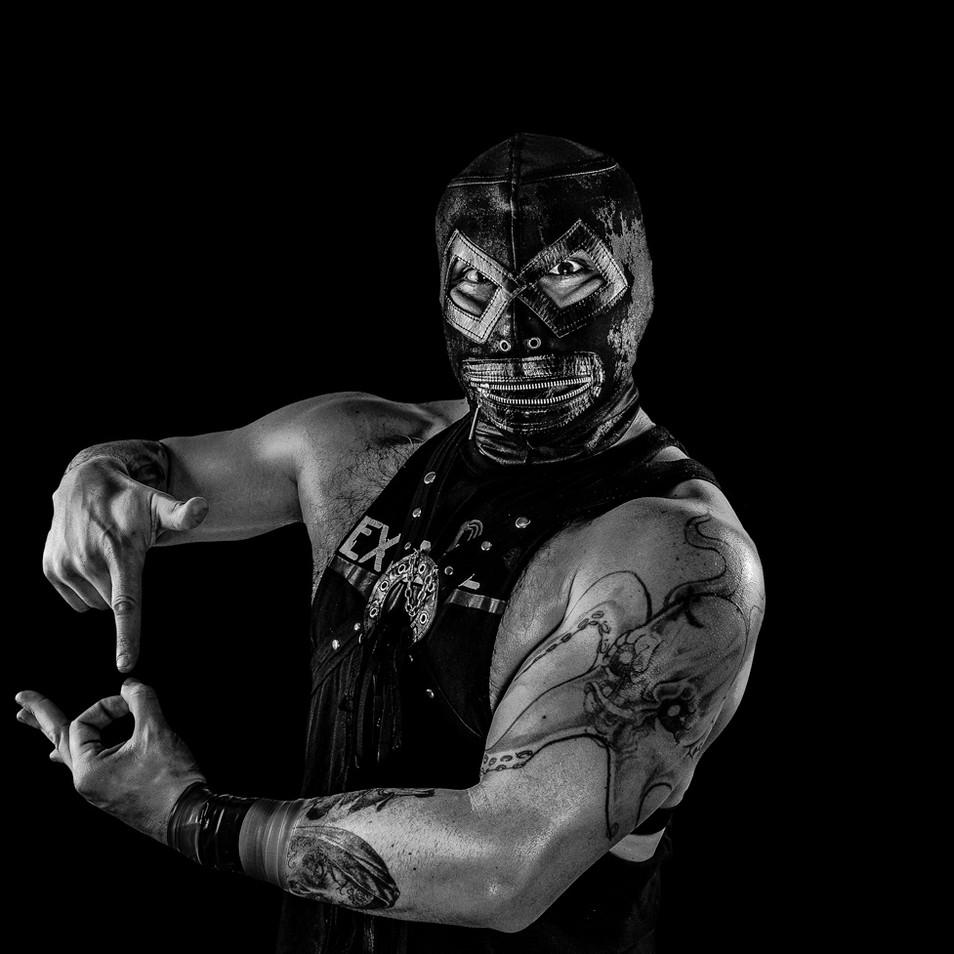 Retrato CNL Lucha Libre - Pro Wrestling Photography - Fotografía Lucha Libre