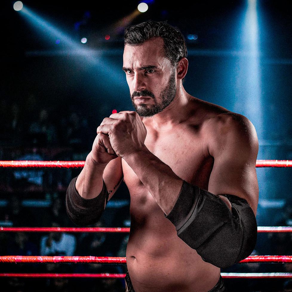 Ariel Levy CNL - Campeonato Nacional de Lucha - Portrait - Pro Wrestling Photography