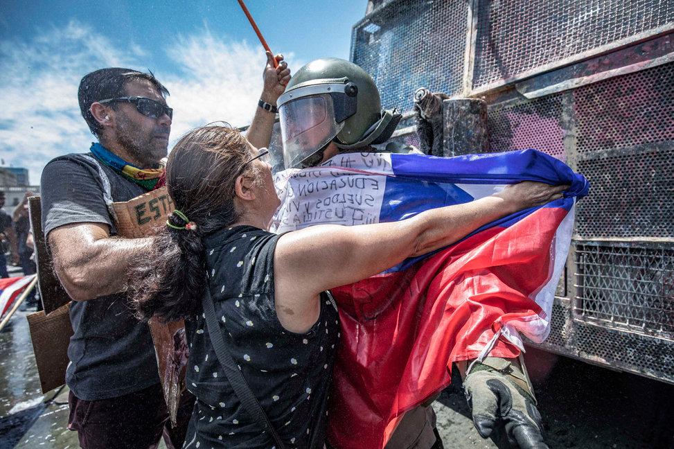 Fotos Protestas Santiago - Estallido Social - #ChileDesperto