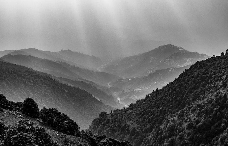 Montañas India - Triund Mountain Claudio Ramírez fotógrafo de naturaleza y paisajes, outdoor and nature photographer