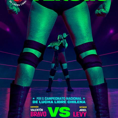 AFICHE-VERSUS-BRAVO LUCHA LIBRE - Pro Wrestling Photography