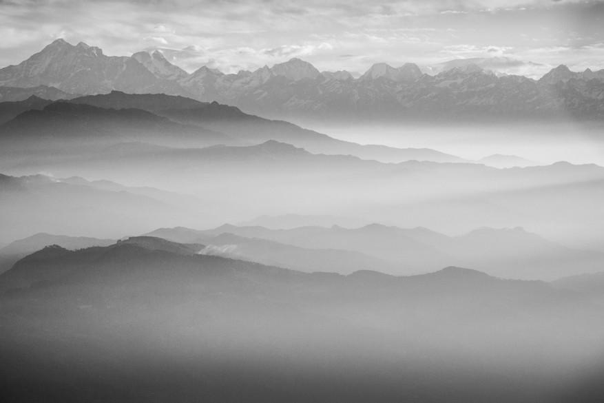 Himalayas Mountains - Landscape - Clouds