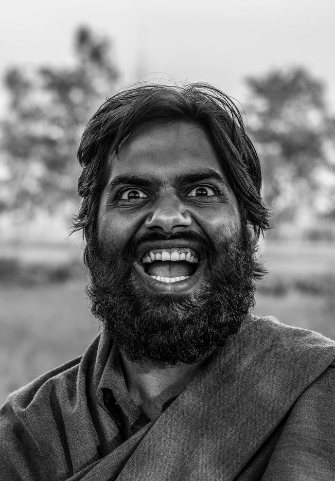 Retrato Documental - Man Portrait India