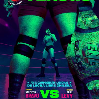 Lucha Libre - Ariel Levy - Retratos, Pro Wrestling Poster