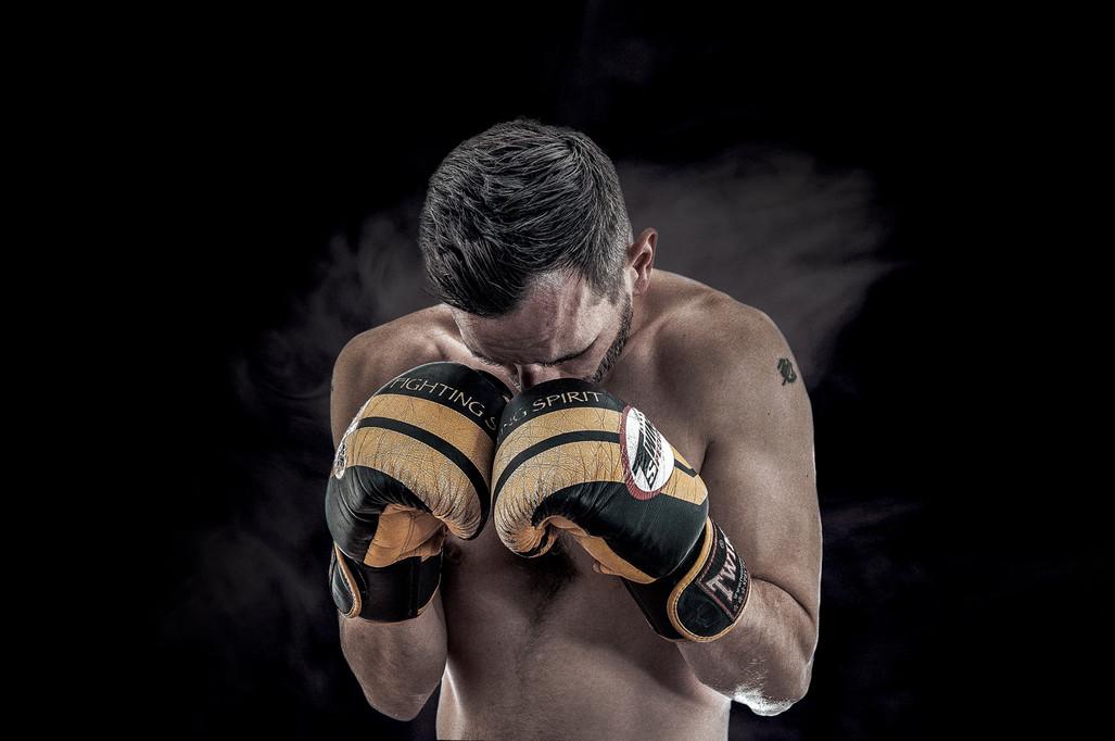 kick Boxing Fighter Portrait - Retrato - Sports