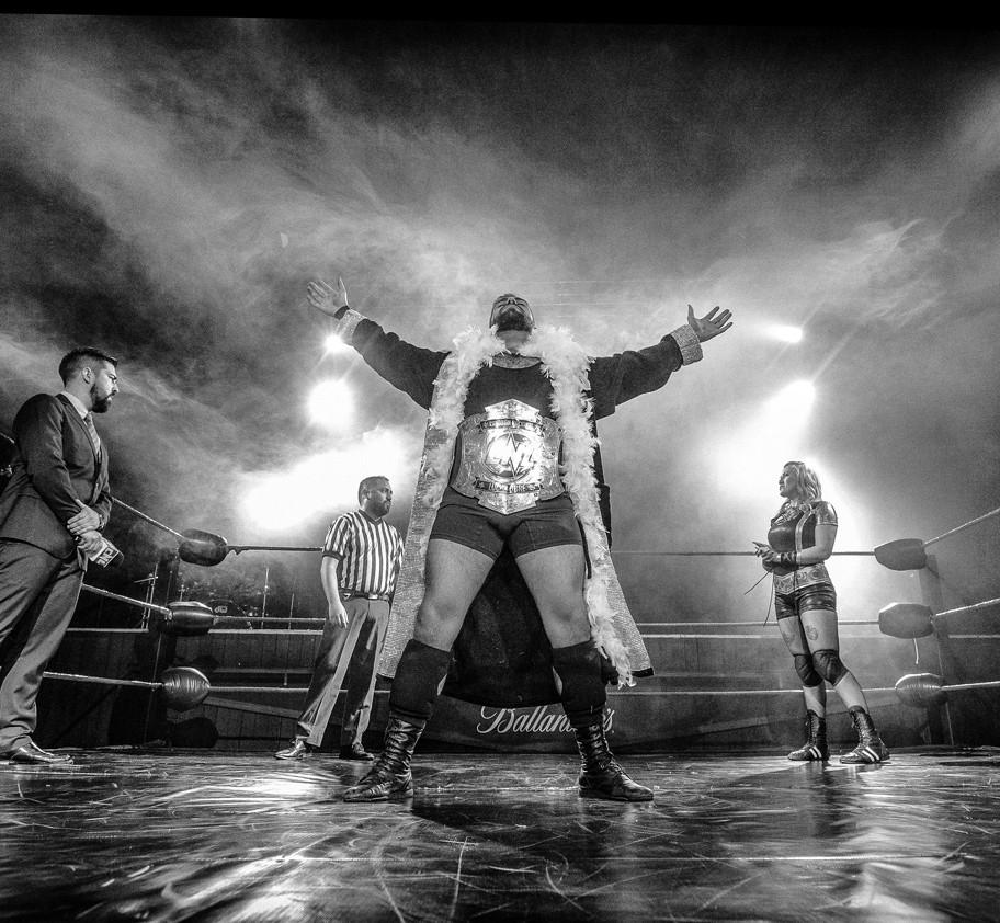 Bravo Wrestler - Ringside - Pro Wrestling Photography - Fotografía de Lucha Libre