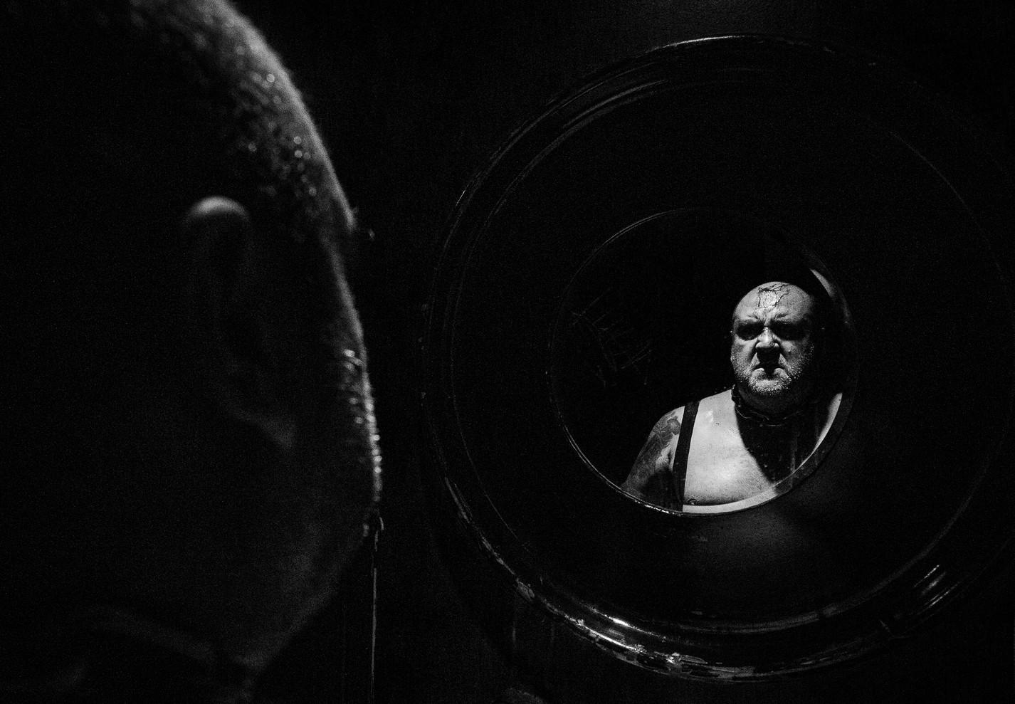 Retrato Documental Backstage - Lucha libre - Wrestling Portrait