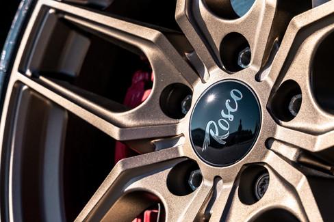 rosco wheels cruise bronze volkswagen gti rims