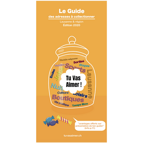 "Guide ""Tu Vas Aimer!"" / Edition 2020"