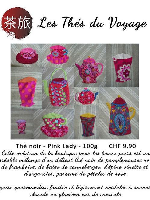 Les Thés du Voyage: Thé noir - Pink Lady