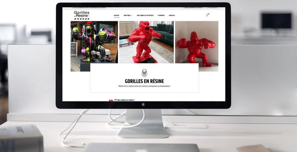 Gorilles-en-resine.com