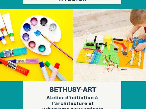 Bethusy-art: Ateliers d'initiation à l'architecture pour enfants