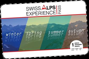 Swiss Alps Experience Pass  90 jours / 1 saison