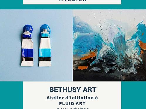 Bethusy-Art: Cours d'initiation à la peinture : fluid art