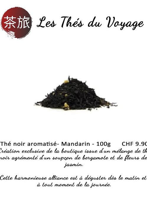 Les Thés du Voyage: Thé noir aromatisé - Mandarin