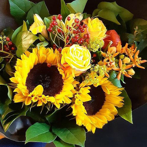 RivieraFlor - Bouquet du jour - chaleur et soleil