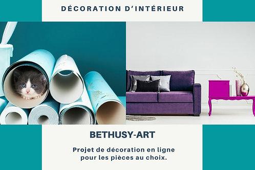 Projet de réaménagement d'une de vos pièces à choix - BETHUSY-ART