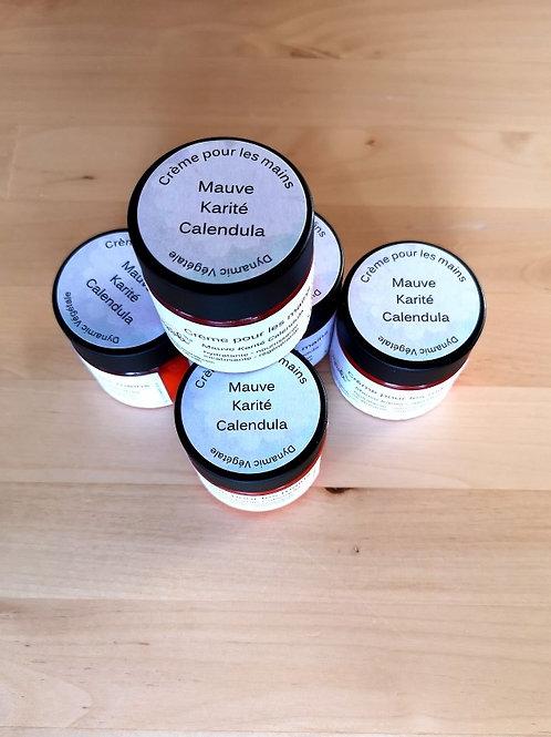 Dynamic Végétale - Crème pour les mains Mauve Karité Calendula