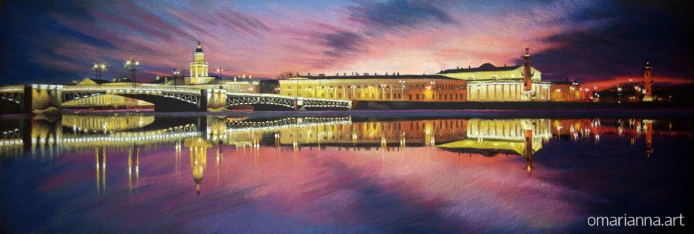 Санкг-Петербург. Отражение