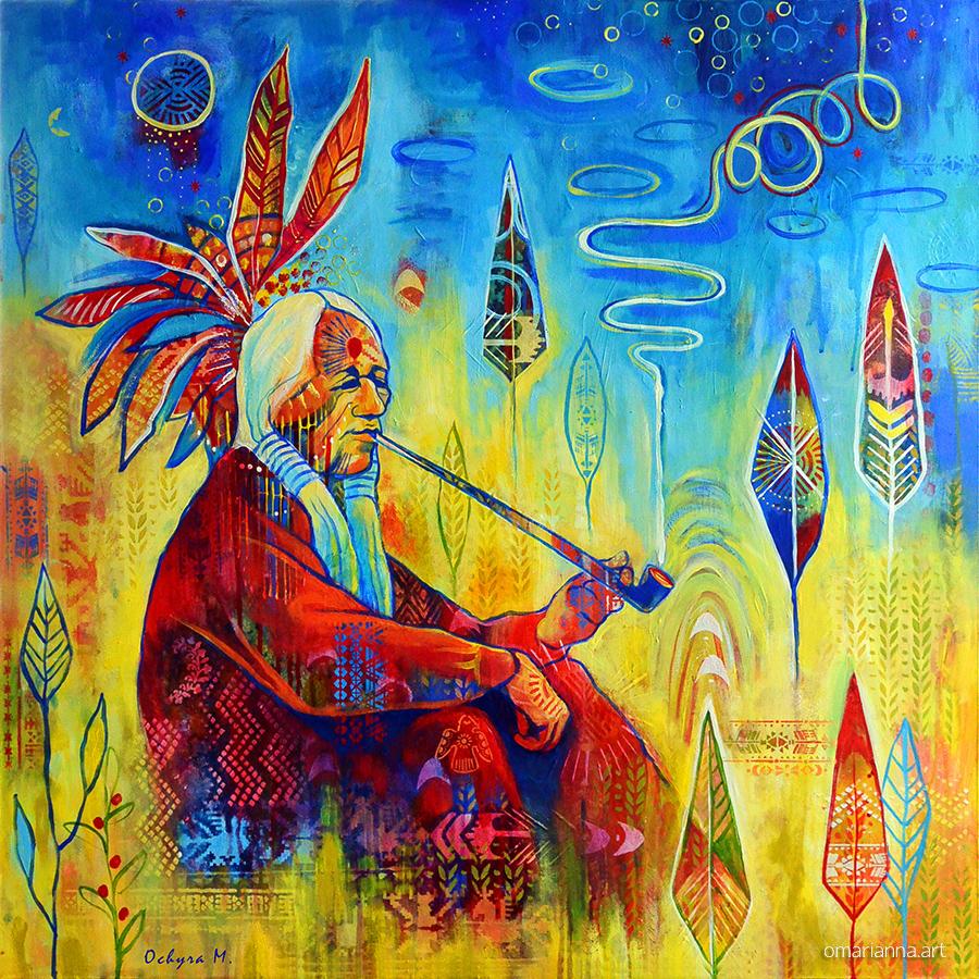 Peace pipe | Marianna Ochyra