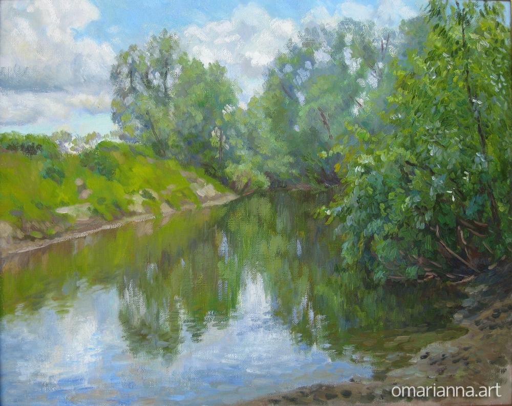 Река Чик.