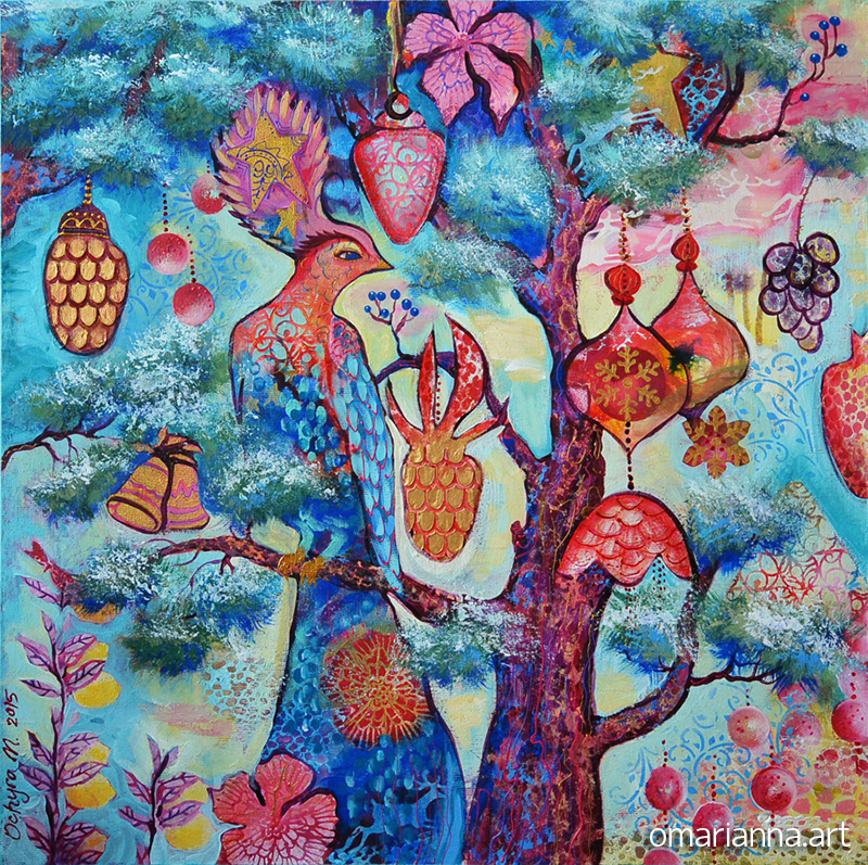 """""""Bird of happiness"""" - SOLD"""
