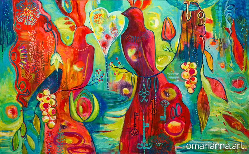 """""""Love Keepers"""" - SOLD"""